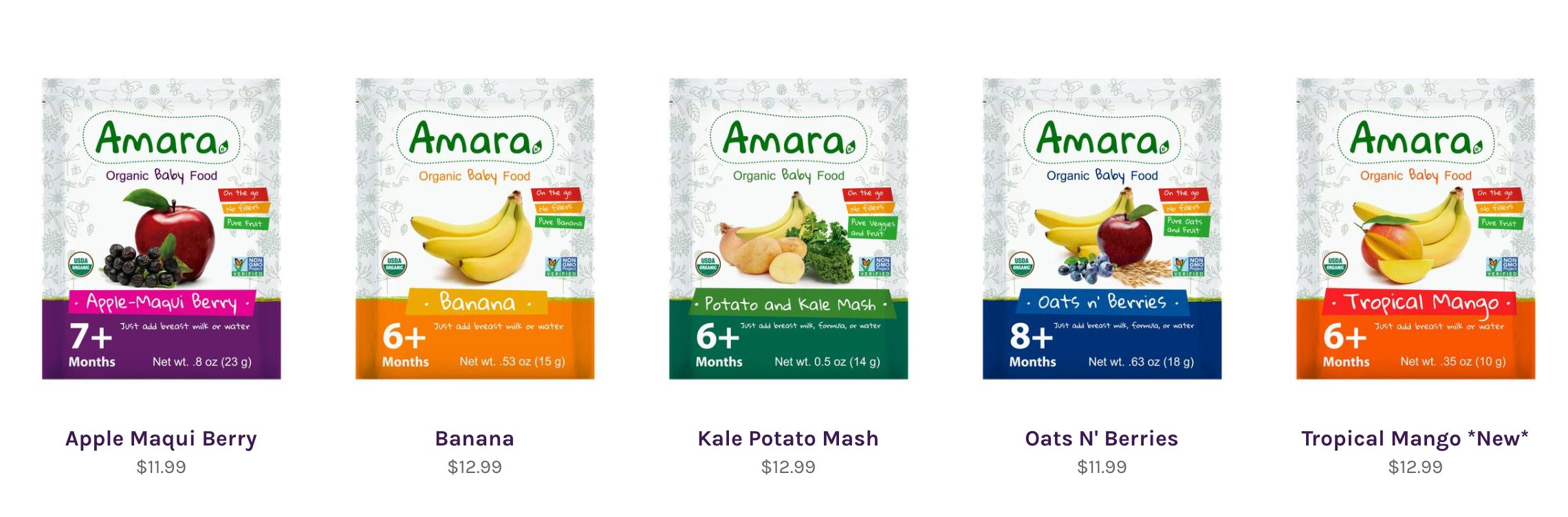 Amara Baby Foods
