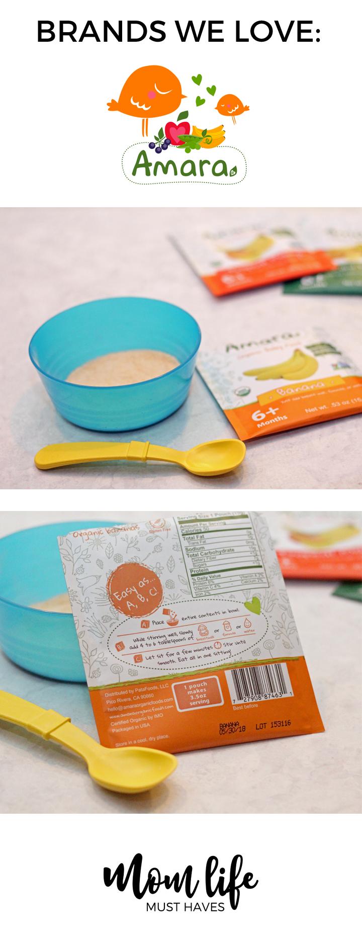 Brands we love: Amara Baby Foods