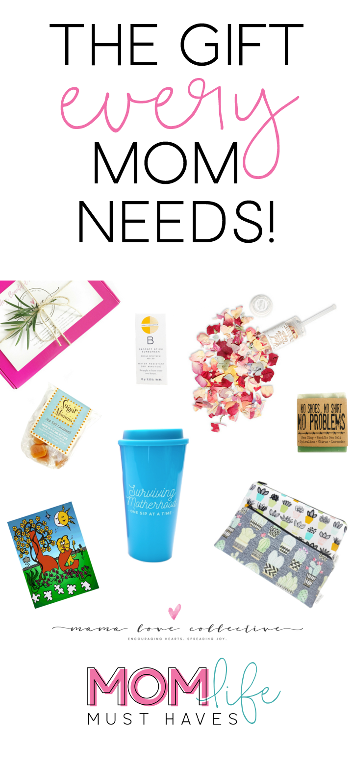 Gifts ideas for moms via Mama Love Collective and Mom Life Must Haves