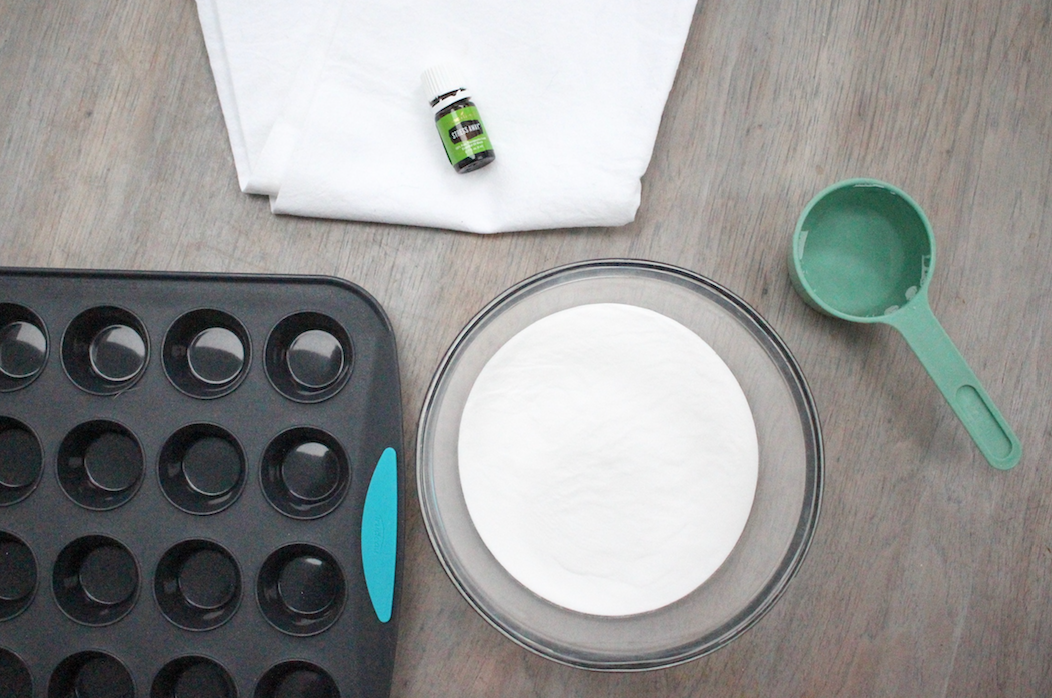 DIY Stress away shower melts with young living