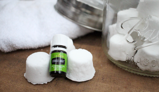 DIY Shower Melts w/ Young Living Stress Away