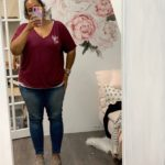 Women's Fit Slouchy Tee - XL