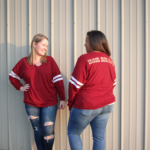 Women's Fit Oversized Spirit Jersey - Size Large