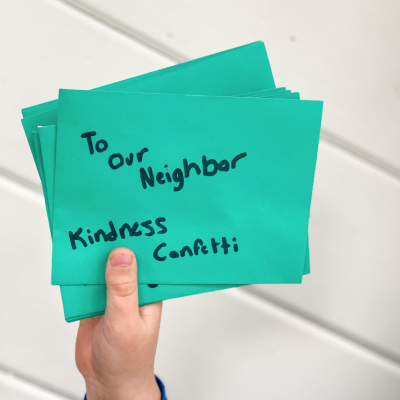 Kindness Confetti Activity for kids - Mom Life Must Haves blog